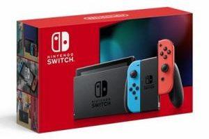 Nintendo Switchネオンの画像