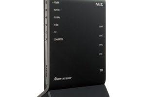 NEC 無線LANルータ PA-WG1900HP2